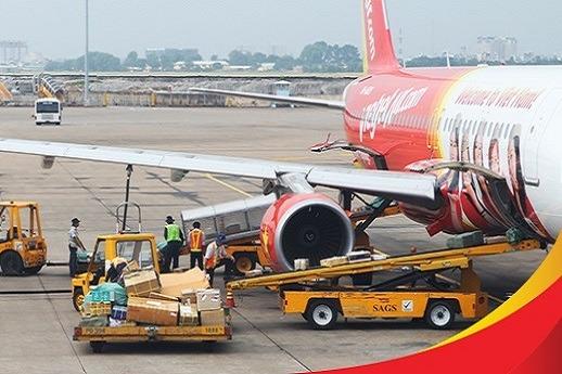 Giá cước vận chuyển hàng không nội địa