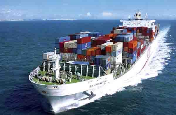 vận chuyển hàng hóa đường biển bằng container